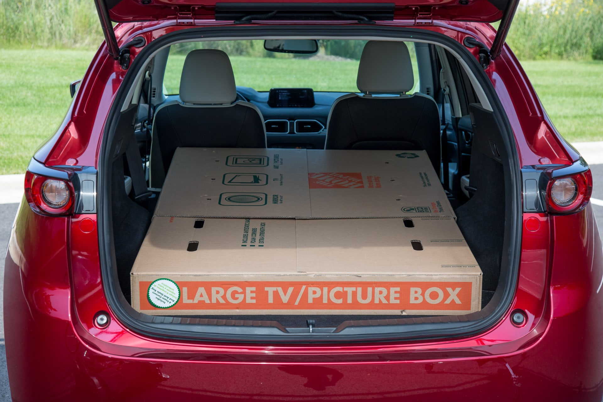 Mazda Cx 5 Cargo Space Dimensions >> 2017 Mazda Cx 5 Real World Cargo Space News Cars Com