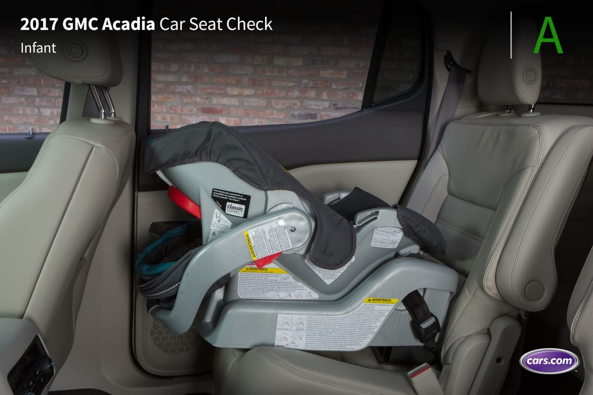 Awesome 2017 Gmc Acadia Three Rows Car Seat Check News Cars Com Gmtry Best Dining Table And Chair Ideas Images Gmtryco