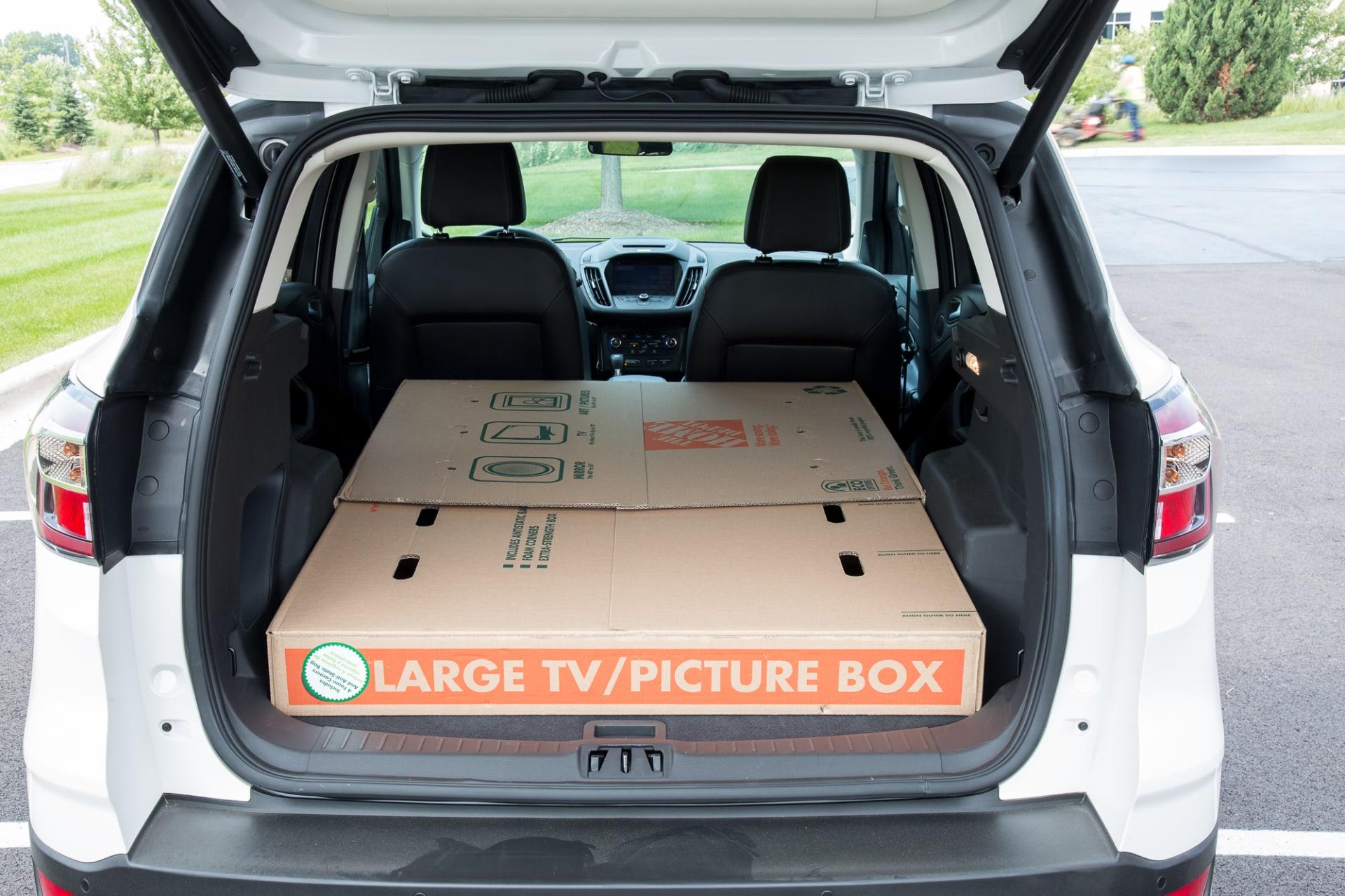 2017 Ford Escape Real World Cargo Space News Cars Com