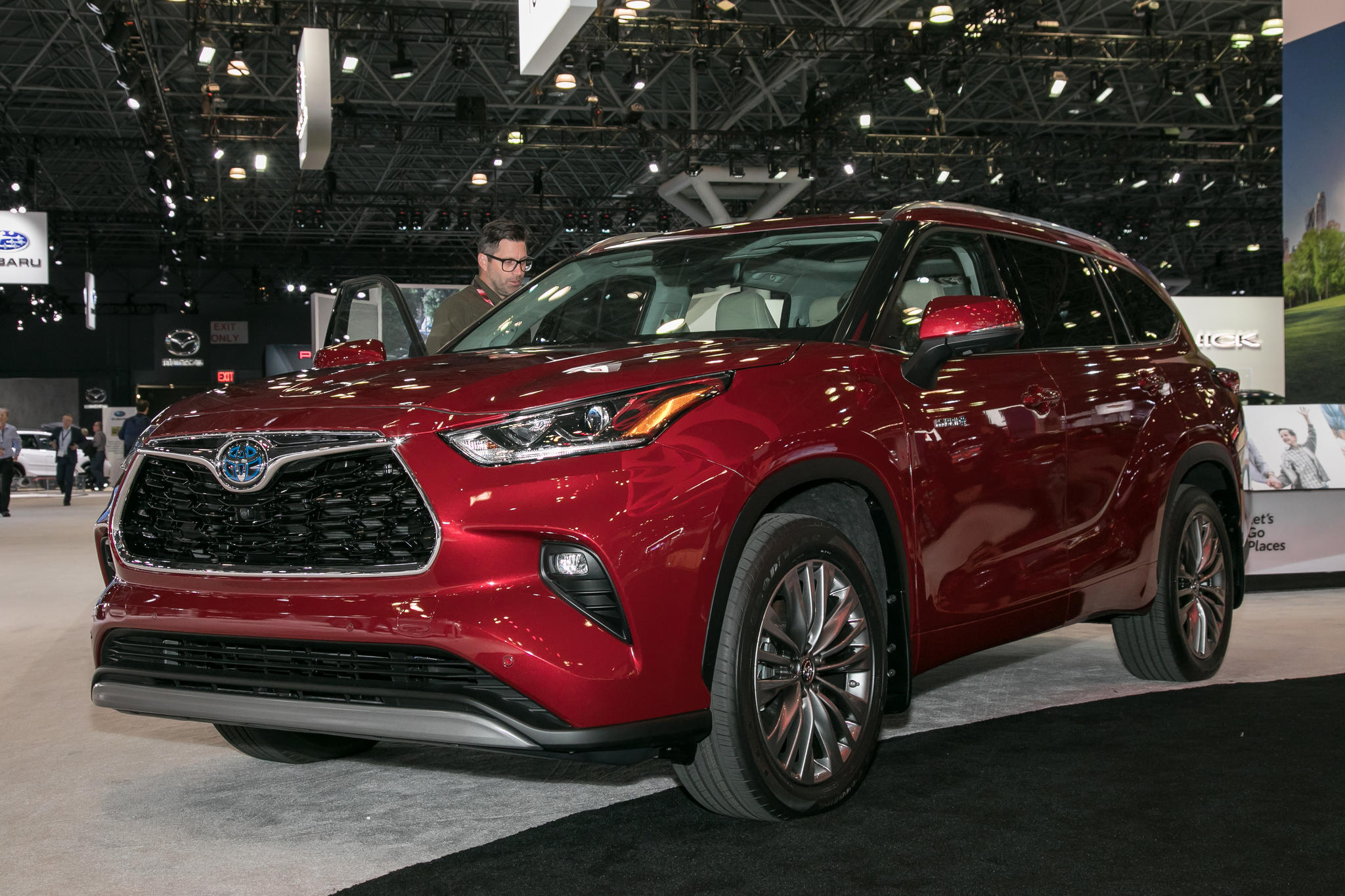 2019 Miami Auto Show 2020 Toyota Highlander And 4 Other