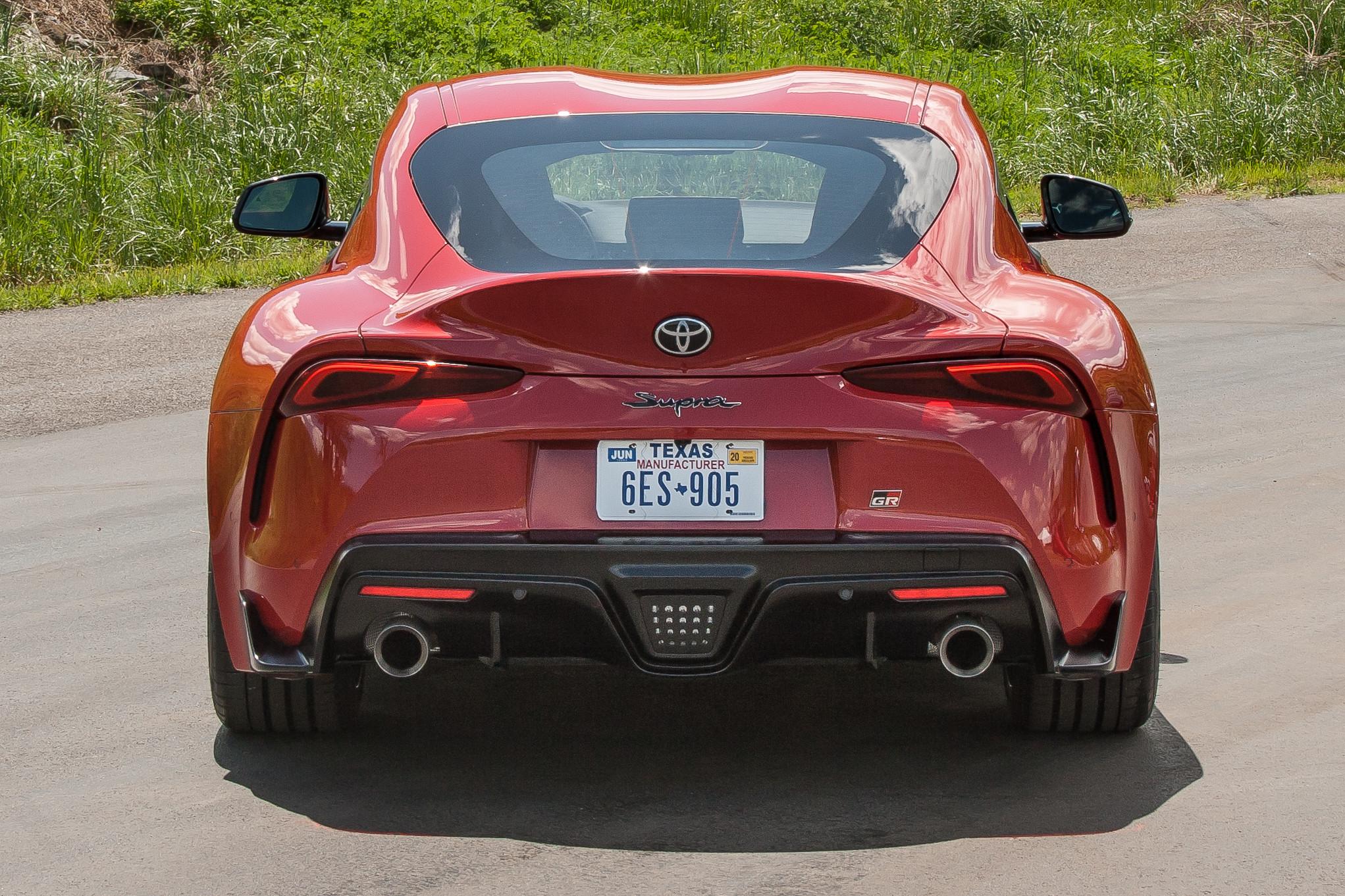 2020 Toyota Supra Rear Bumper