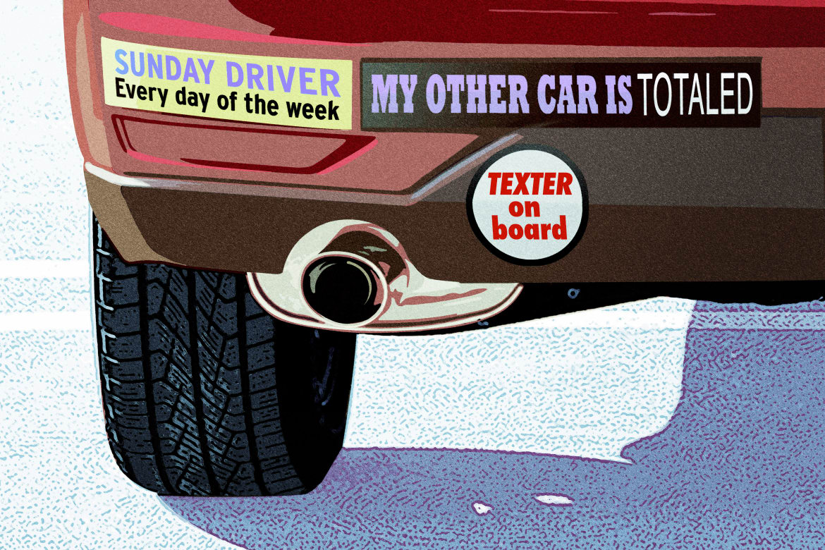 What does your bumper sticker say about you