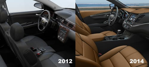 Groovy 2014 Chevy Impala Marks End Of Front Bench Seats In Cars Ibusinesslaw Wood Chair Design Ideas Ibusinesslaworg