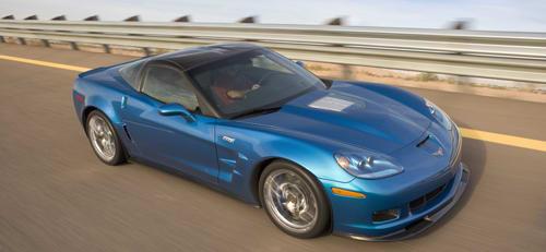 2008 Detroit Auto Show: 2009 Corvette ZR1