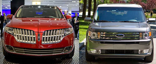 2010 Lincoln MKT vs. Ford Flex: Suburban Dad