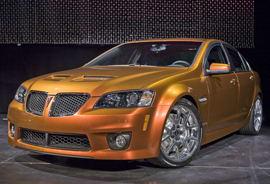 Pontiac G8 GXP Finds More Power   News   Cars com