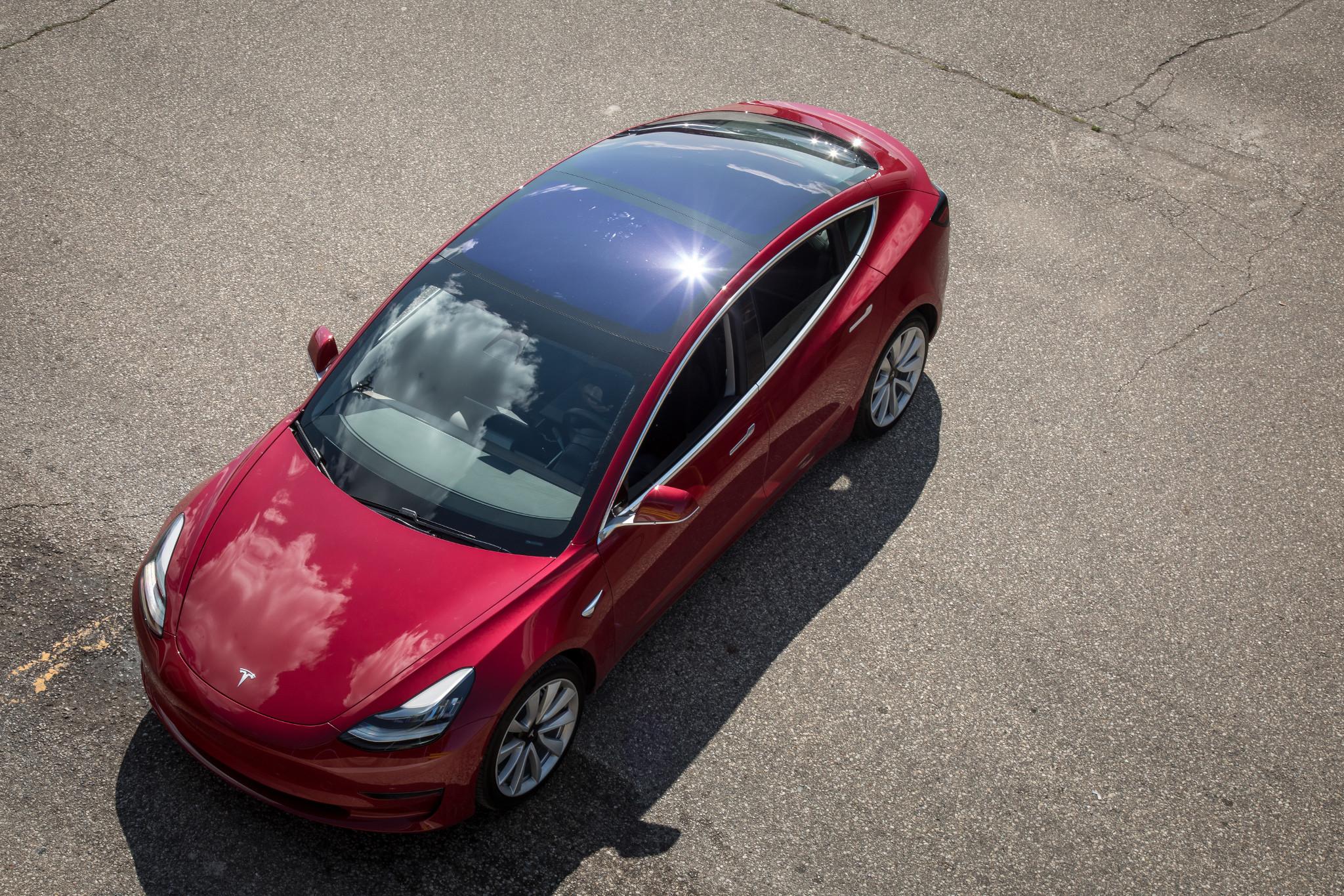 How Do Car Seats Fit in a 2019 Tesla Model 3? via @carsdotcom