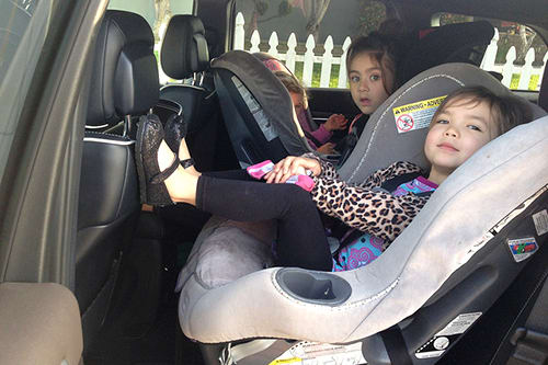 Real Life Test 3 Car Seats In The 2014 Jeep Grand Cherokee News