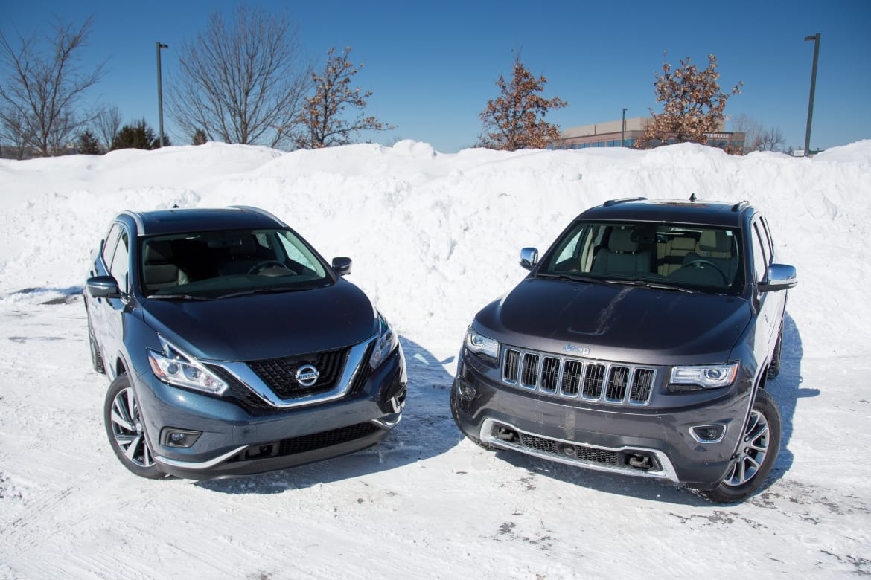 2015 Jeep Grand Cherokee Versus 2015 Nissan Murano News Cars Com