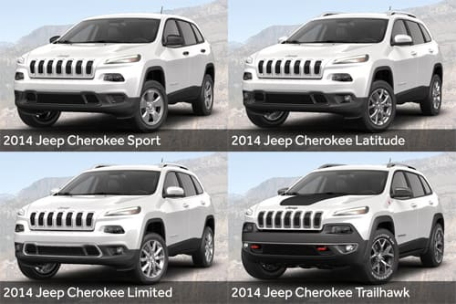 2014 Jeep Cherokee: Trim Level Breakdown | News | Cars com