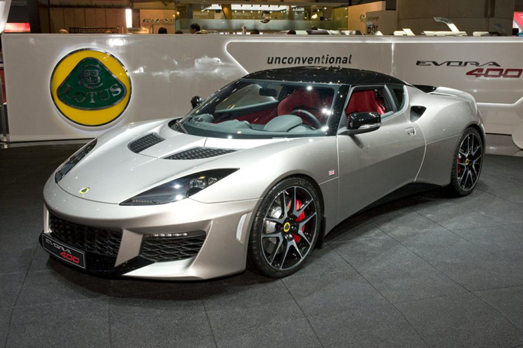 2017-2018 Lotus Evora 400: Recall Alert