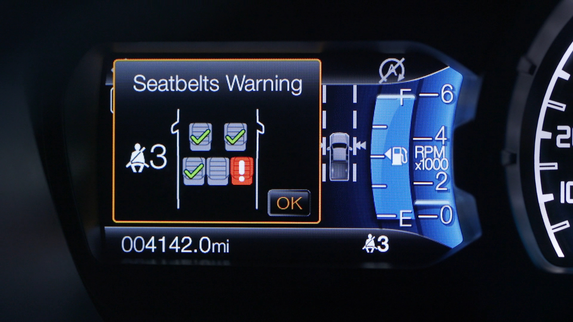 Not Wearing Your Seat Belt? 2019 Ford Ranger's Gonna Tell on You!