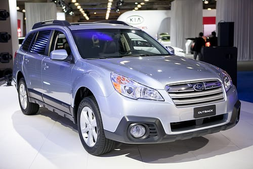 2013 Subaru Outback: Photo Gallery
