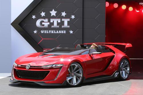 Volkswagen Gti Roadster Concept First Look News Cars Com