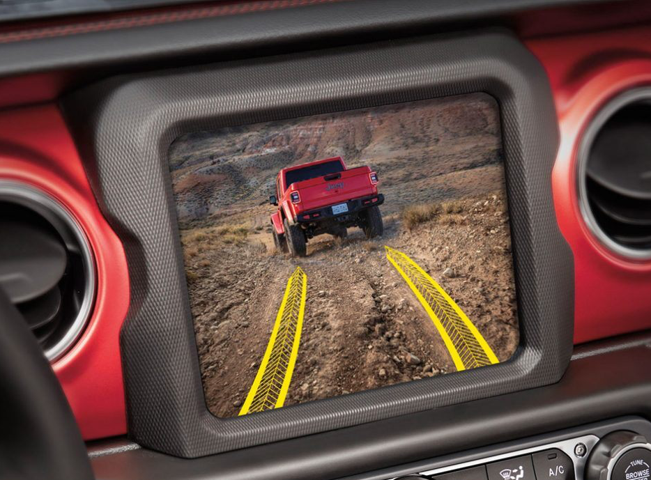 2020 Jeep Gladiator TrailCam off-road camera