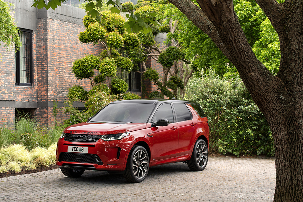 2020 Land Rover Discovery Sport Gets Mild-Hybrid Option