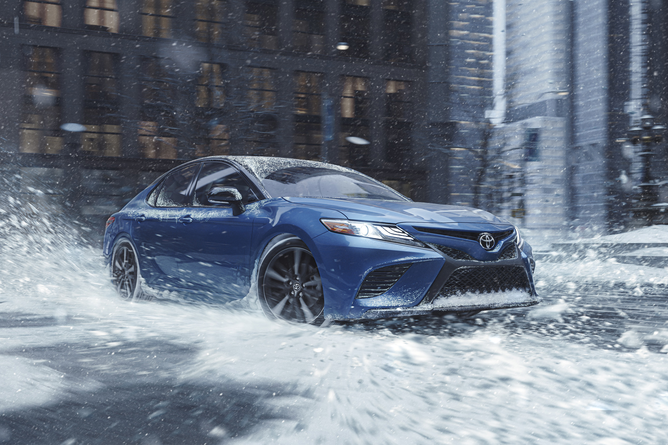 Toyota Seeks More Traction for Sedans With All-Wheel-Drive Camry and Avalon
