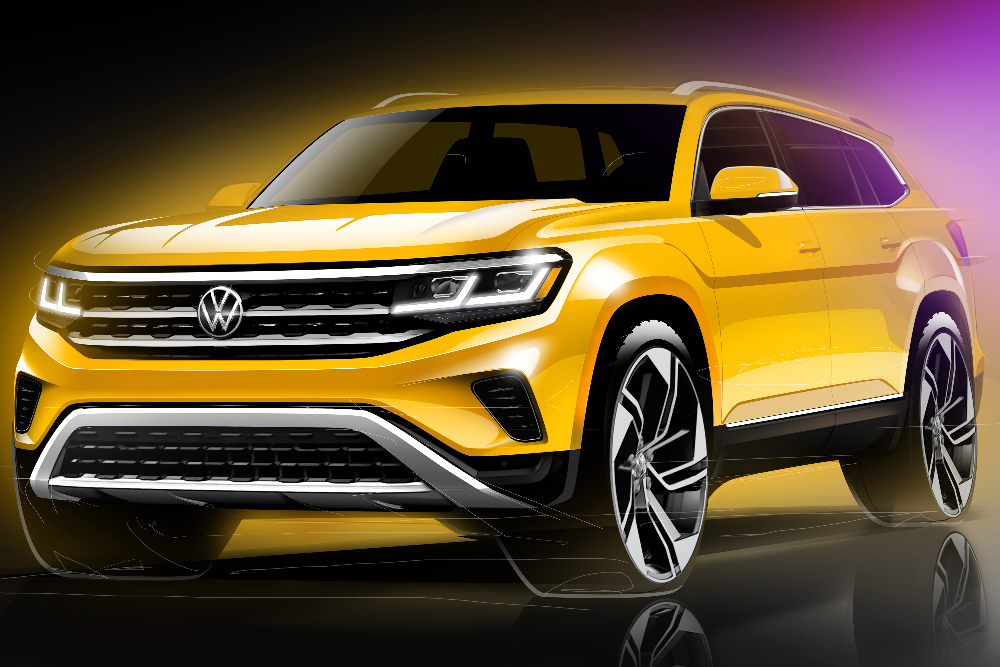 2021 Volkswagen Atlas Gets Cross Sportified Refresh