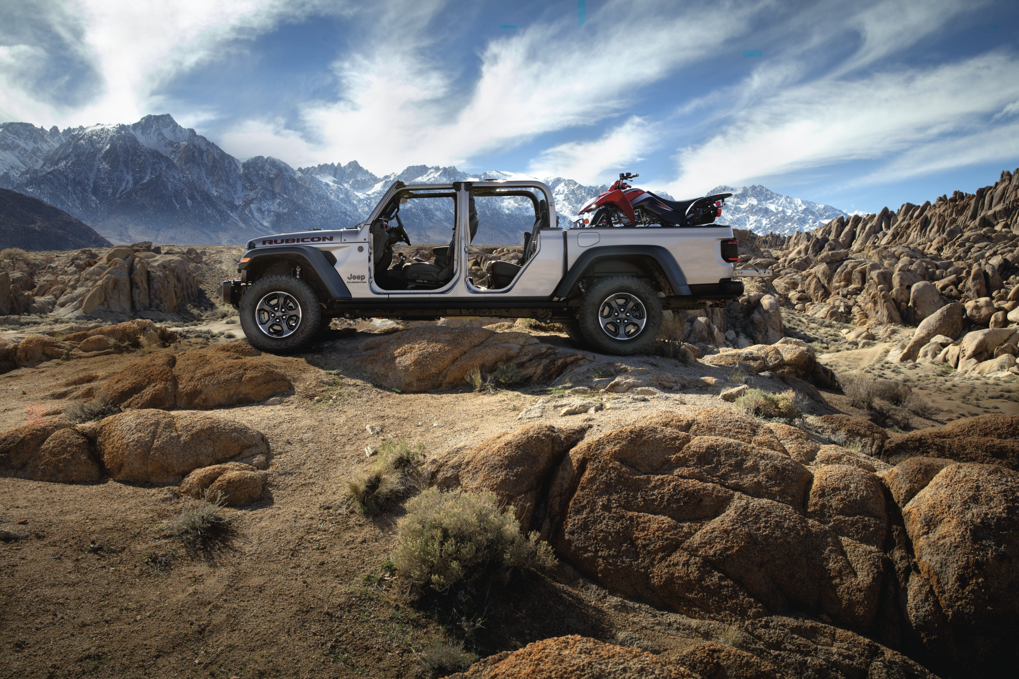 Take Your Truck Beyond the Blacktop With the 2020 Jeep Gladiator