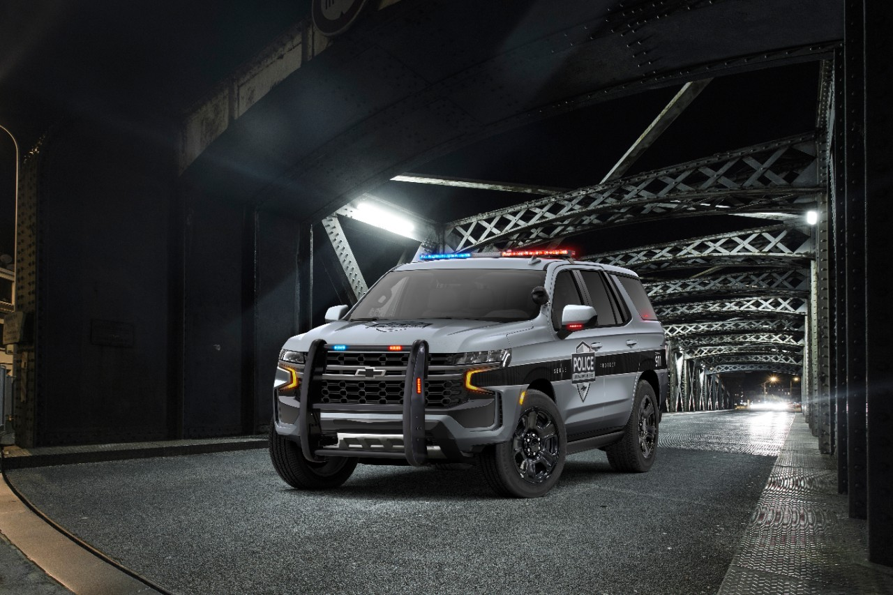 Coming Soon to Your Rearview Mirror: the 2021 Chevrolet Tahoe Police Package