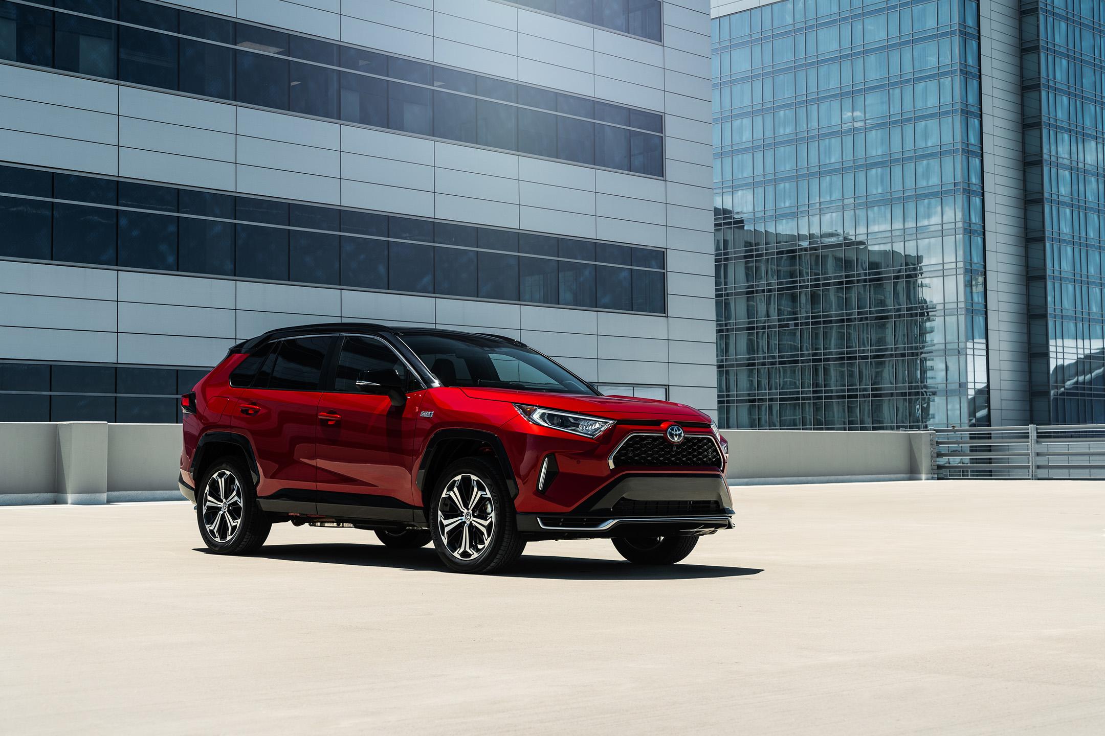 2021 Toyota RAV4 Prime Plug-in Hybrid Primed for Purchase Under $40,000