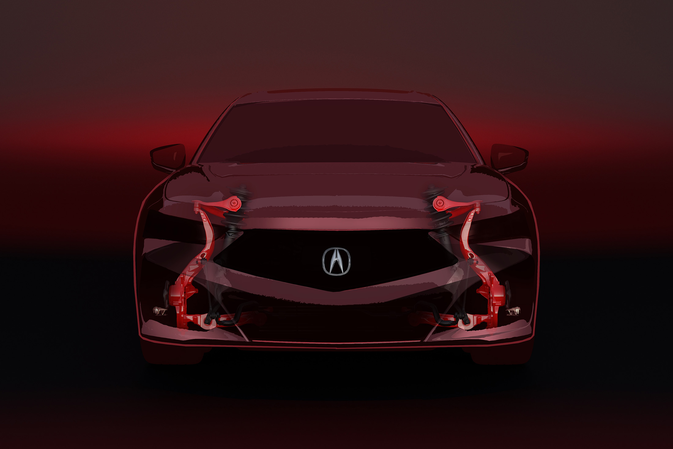 2021 Acura TLX Shows Its Face While Keeping Us in Suspense