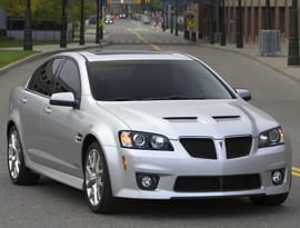 Pontiac G8 GXP Priced Under $40K   News   Cars com