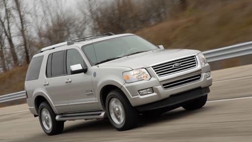 2006 L.A. Auto Show: Ford Explorer Fuel Cell