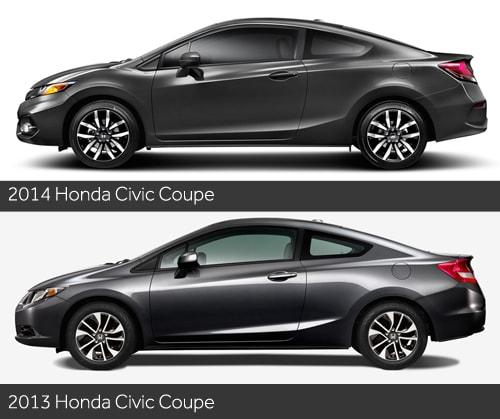 2013 Honda Civic Coupe >> 2014 Honda Civic Coupe First Look News Cars Com