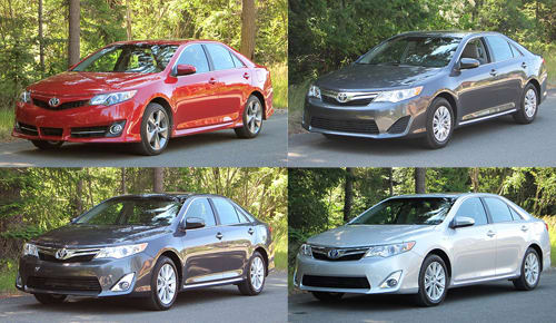 Camry Le Vs Se >> 2012 Toyota Camry Trim Level Breakdown News Cars Com
