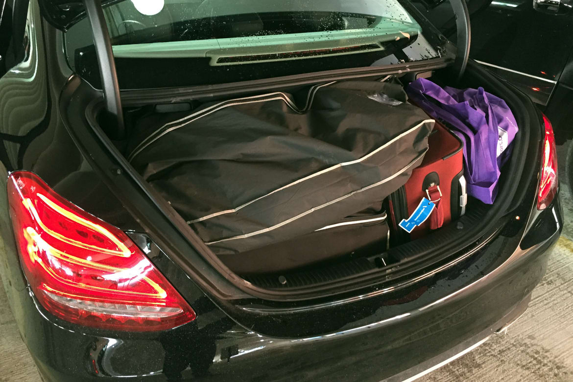 What Can You Fit in a Mercedes-Benz C-Class Trunk? | News