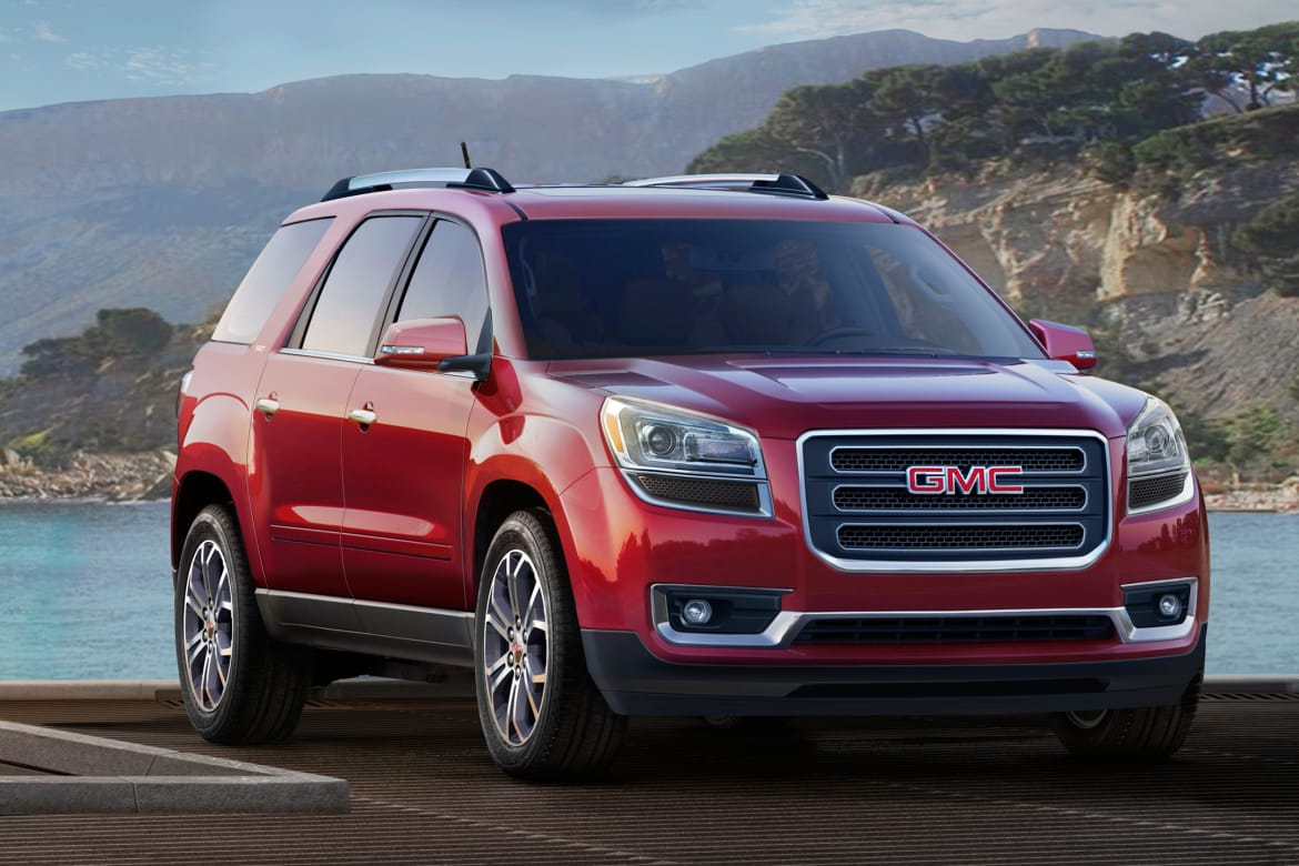 What's Changed on the 2016 GMC Acadia | News | Cars com