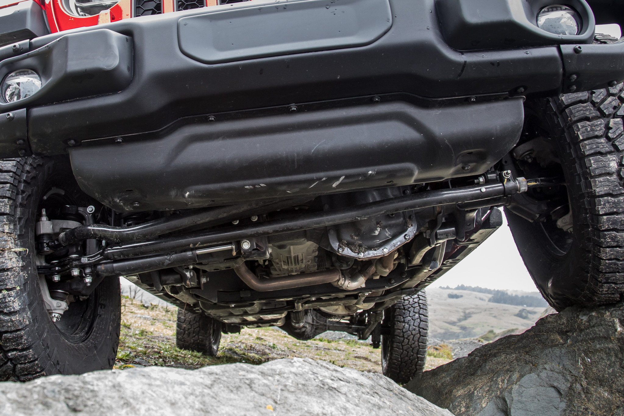2020 Jeep Gladiator Rubicon's undercarriage