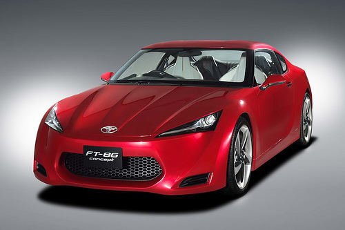 Toyota Ft 86 >> Toyota Ft 86 Sports Car Concept News Cars Com