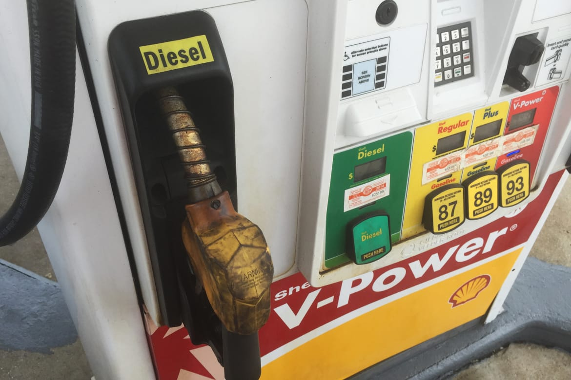 Diesel Gas Near Me >> Why Diesel Prices Are Steadier Than Regular Gas News Cars Com