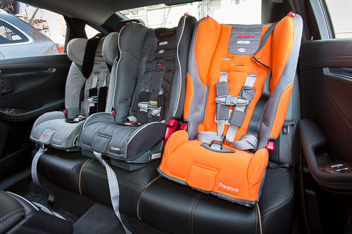 Diono Car Seat >> Diono Car Seats Allow Parents To Fit Three In The Backseat