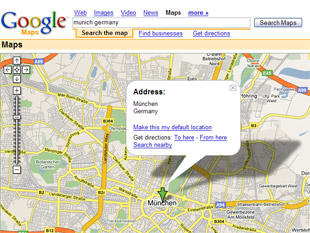 Map Of Germany Google.Google Maps And Bmw Team Up In Germany News Cars Com
