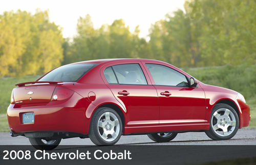 Chevrolet Cobalt Has Long Recall History | News | Cars com