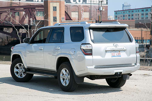 2014 Toyota 4runner Real World Cargo Space News Cars Com