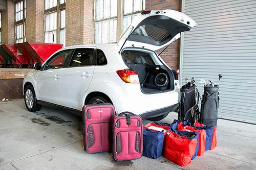 2014 Mitsubishi Outlander Sport Real-World Cargo Space