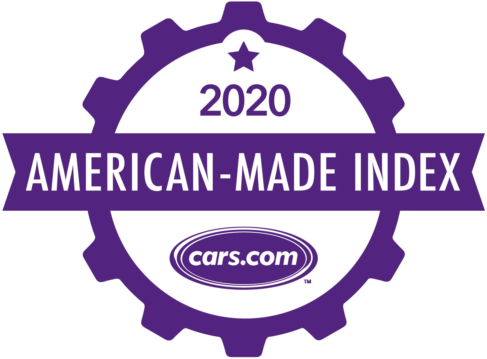 Cars.com 2020 American-Made Index