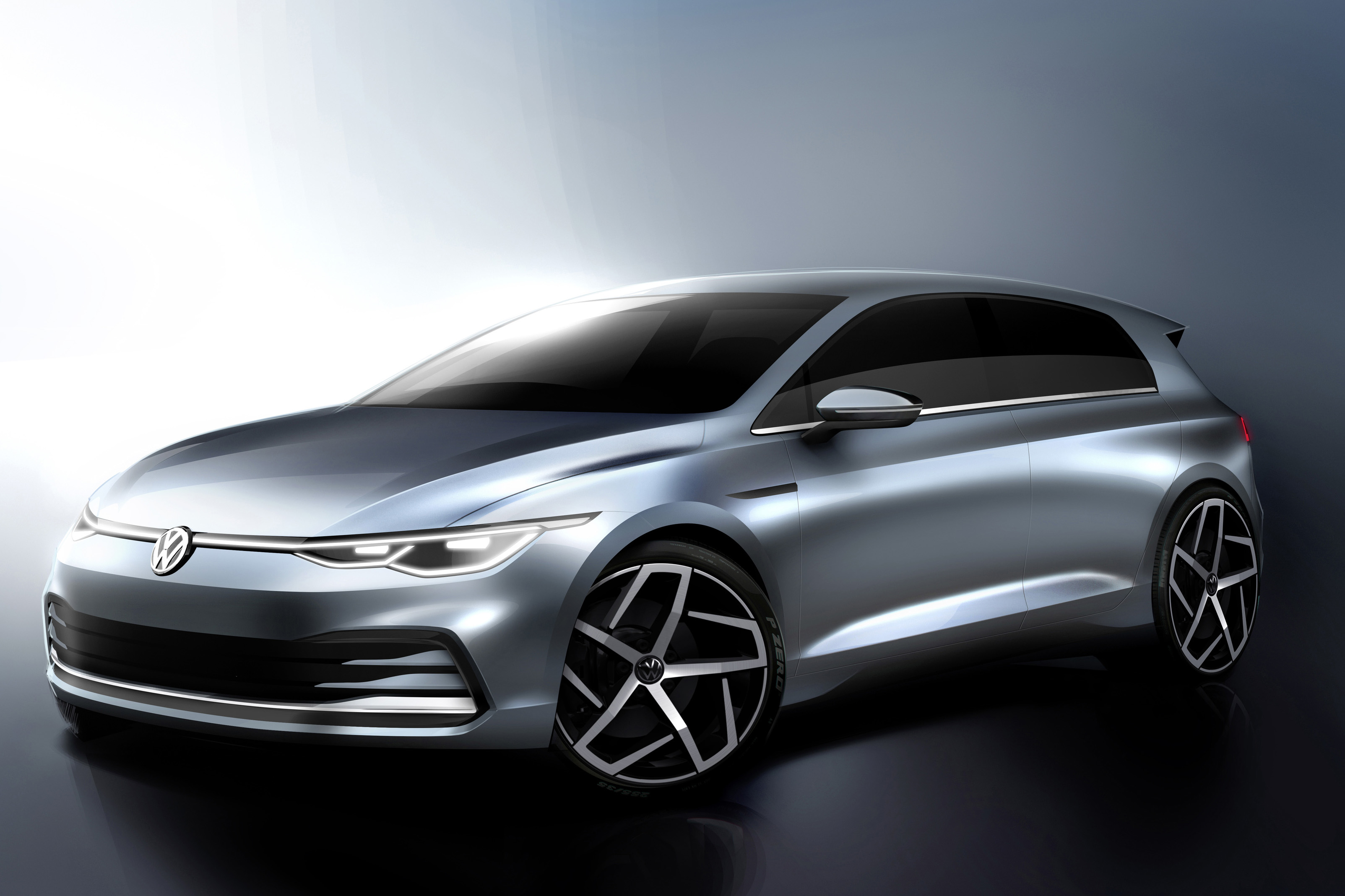 The Next Volkswagen Golf Could Look Similar … Until You Get Inside