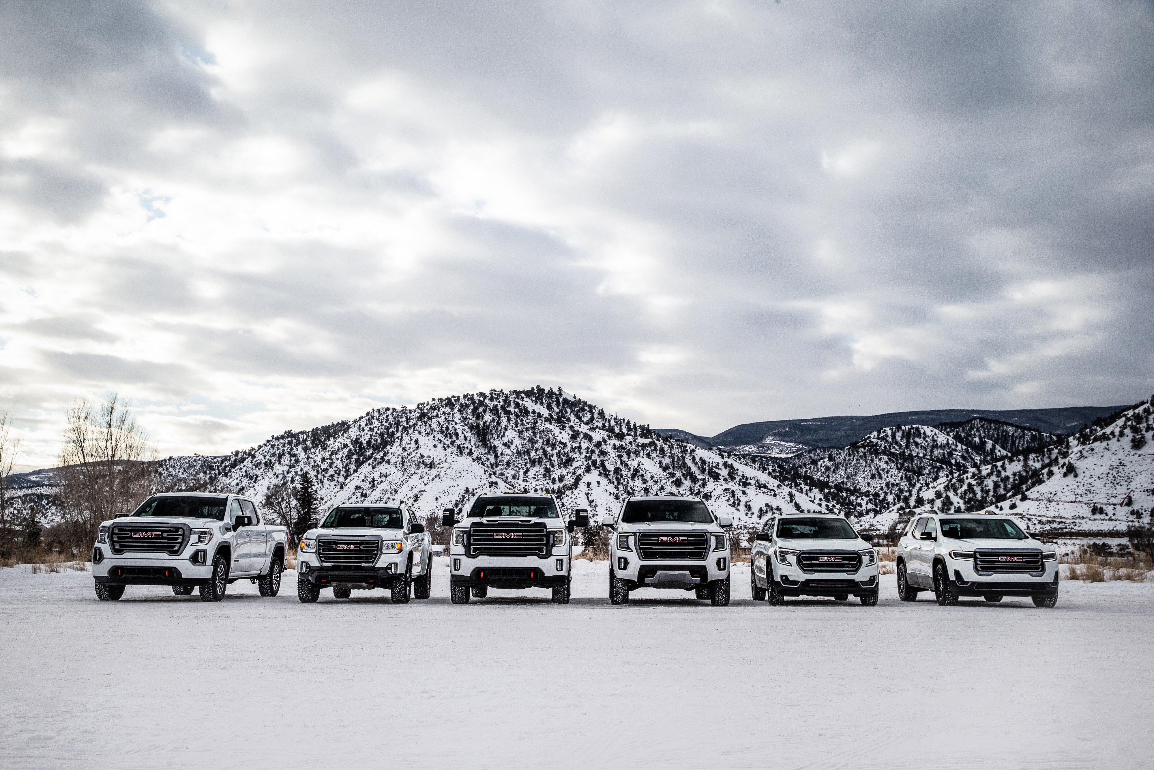 GMC Rounds Out Off-Road Line With Tricked-Up Terrain AT4