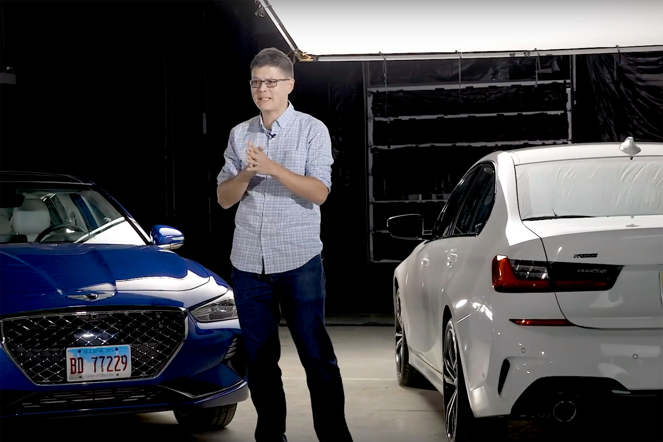 Genesis G70 Vs. BMW 3 Series Video: Luxury Sports Sedan Smackdown