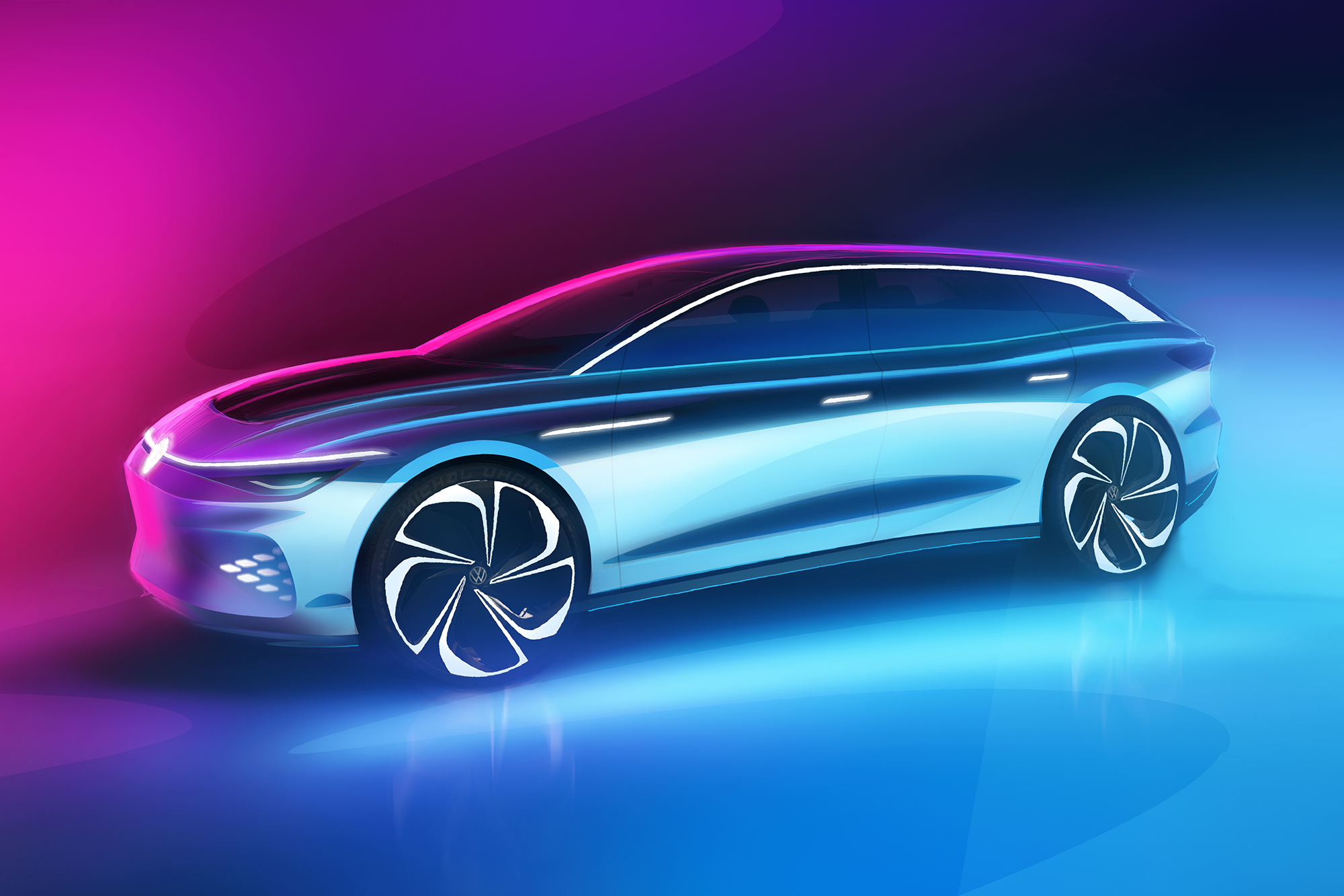 VW ID. Space Vizzion Concept: 'Crossover of Tomorrow' Is Truly a Volks-Wagon