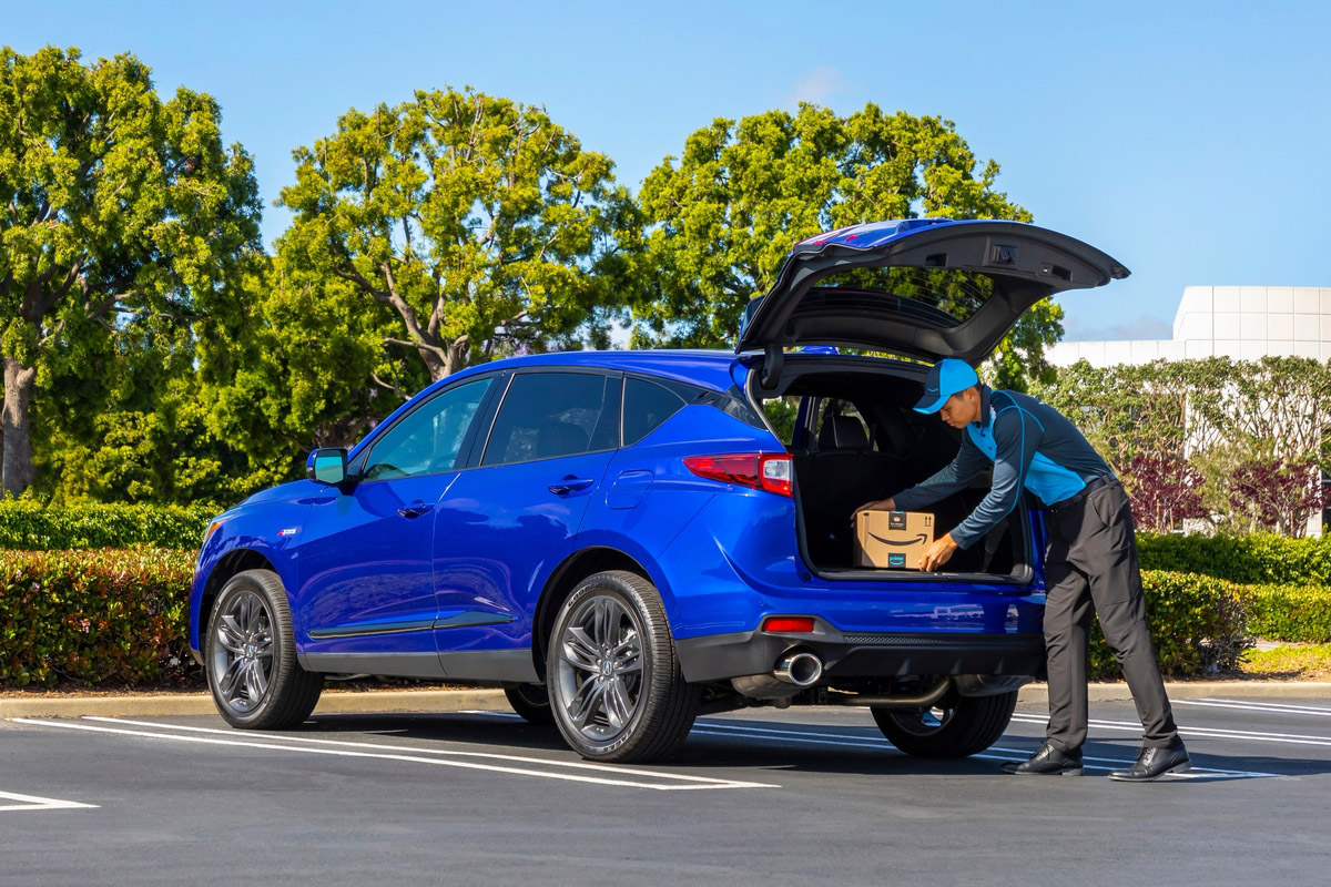 Acura RDX and Amazon Team Up for Near-Instant Gratification