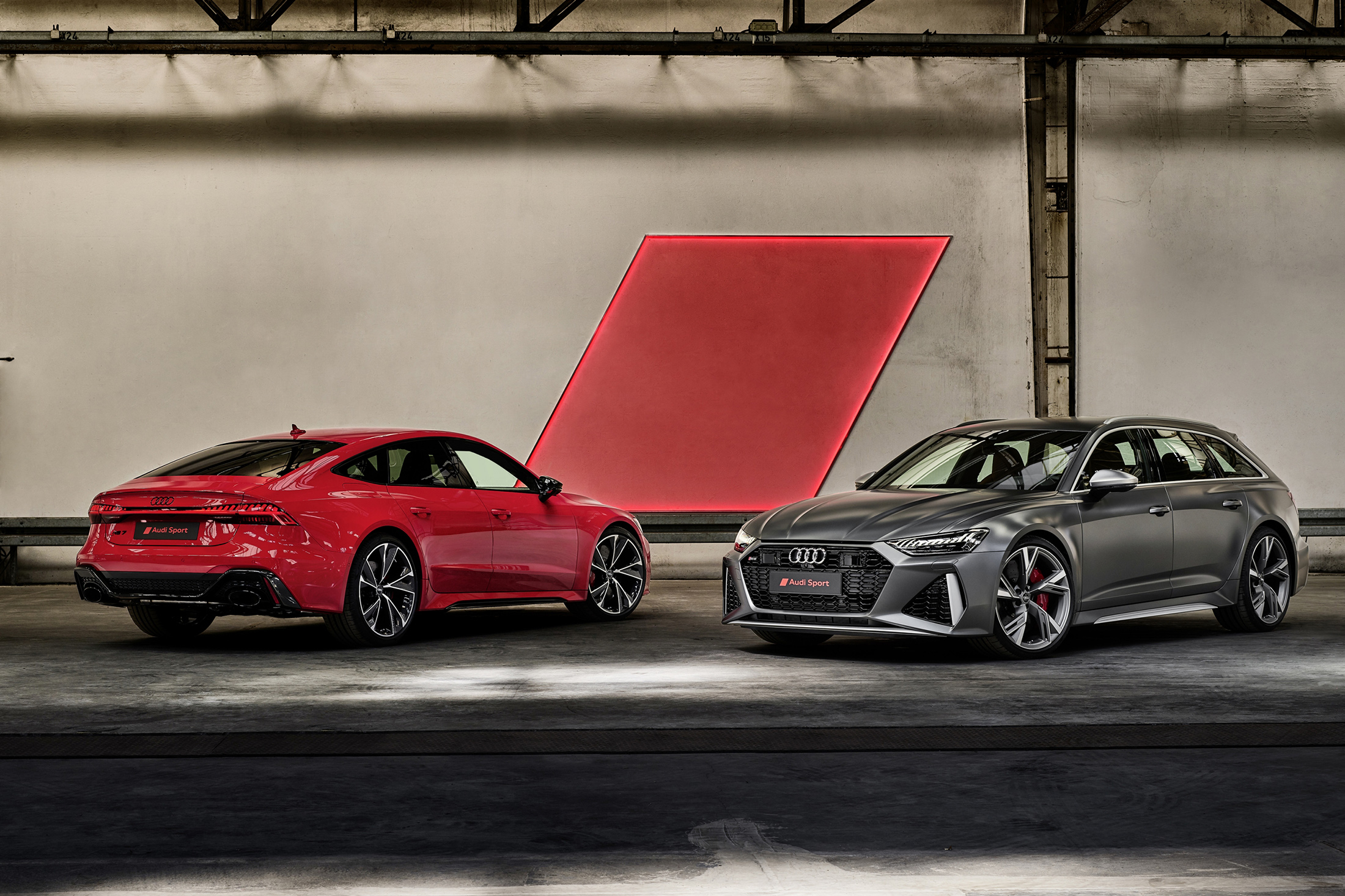 Audi Shows Up Big in L.A. With E-Tron Sportback, RS Q8 and Much More