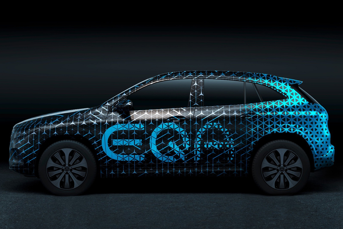 2021 Mercedes-Benz GLA-Class Sparks All-Electric Incarnation in EQA