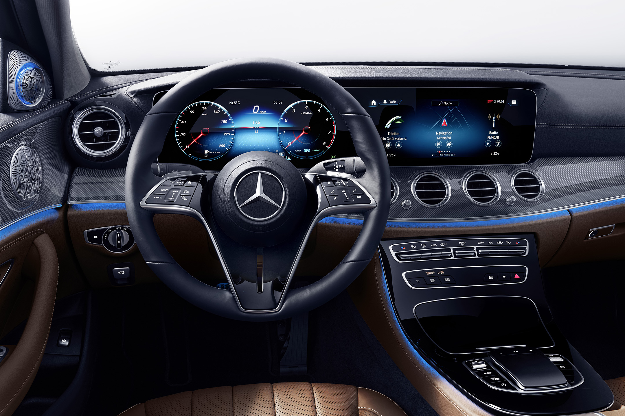 2021 Mercedes-Benz E-Class' Touch-Sensitive Steering Wheel Could be a Touchy Subject