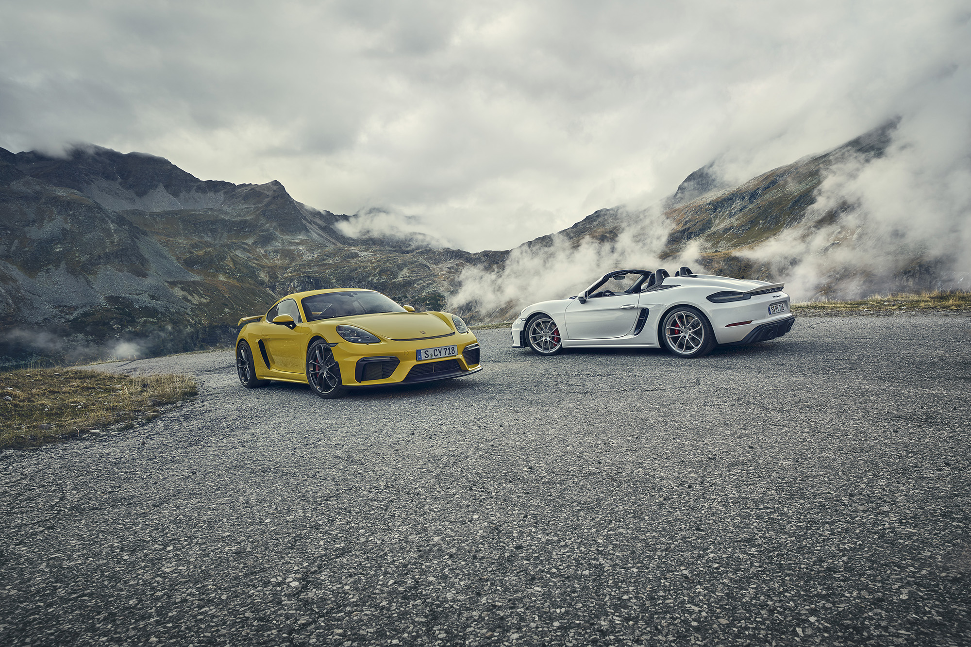Porsche Pops New 414-HP Flat-Six Into 2020 718 Cayman GT4, 718 Spyder